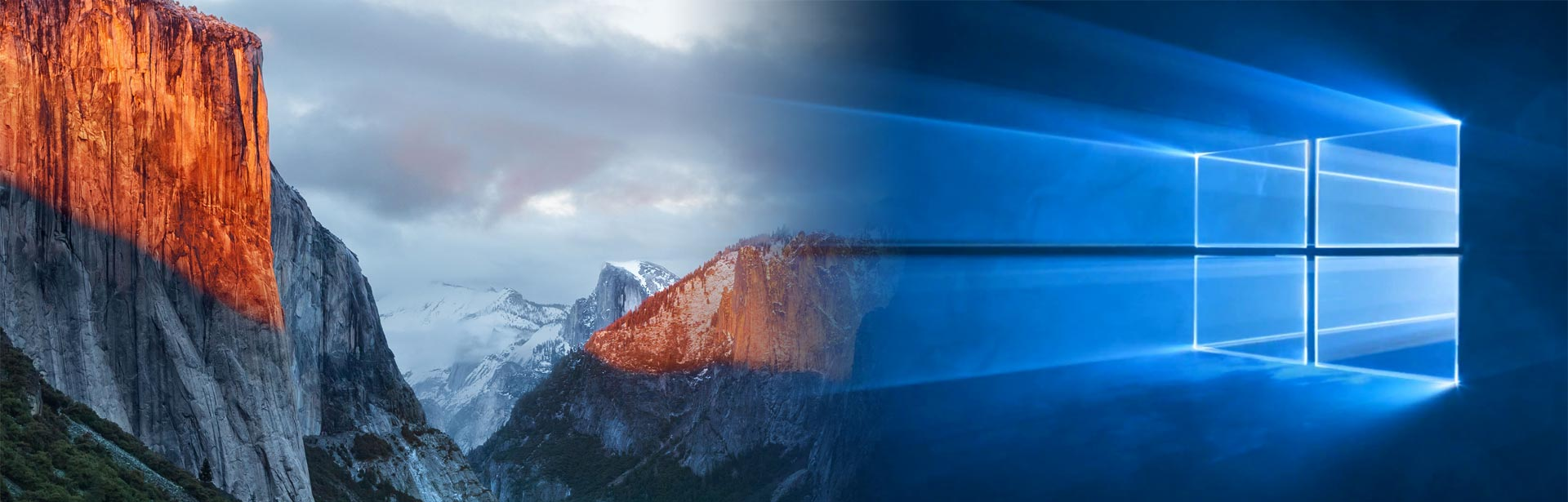 Mac OS X - Windows