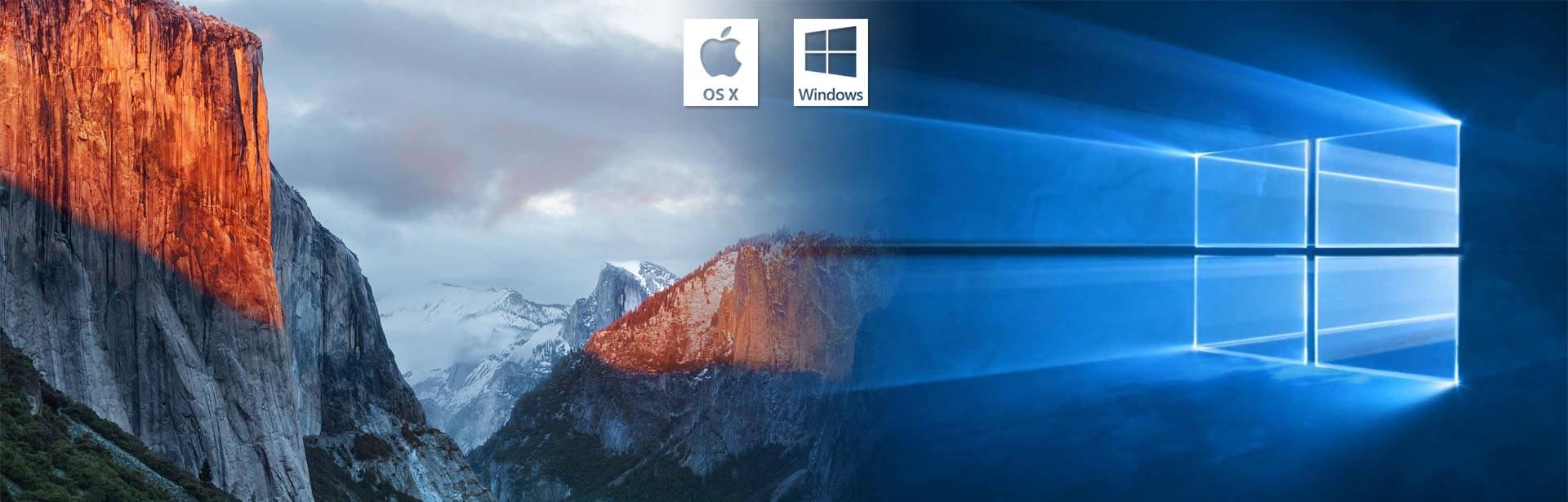 Mac OS X - Windows